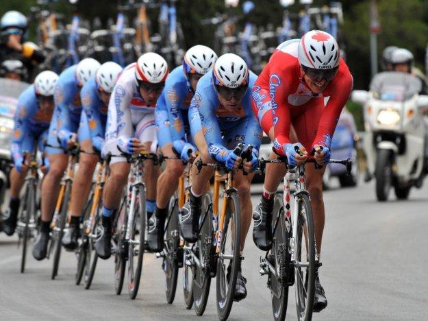 Ciclismo crono equipo